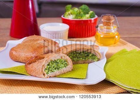 Toast Stuffed Bread