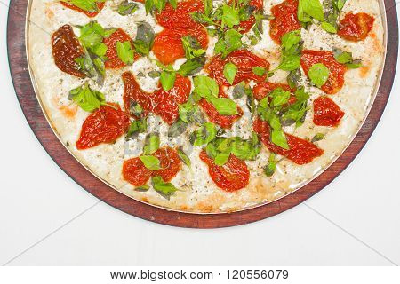 Dry Tomatoes Pizza