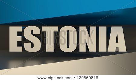 Estonia flag design concept