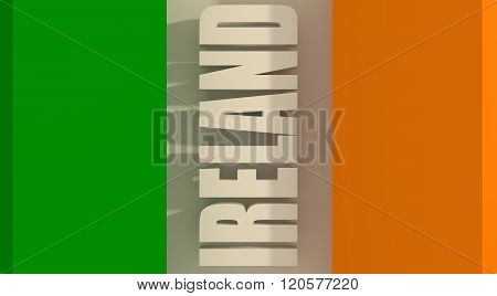 Ireland flag design concept