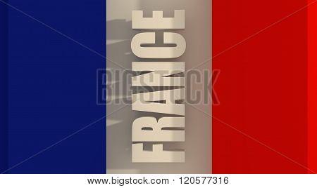 France flag design concept