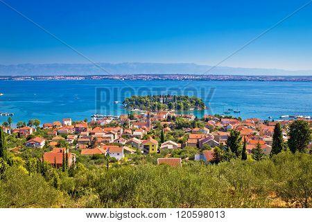 Island Of Ugljan Picturesque Coast