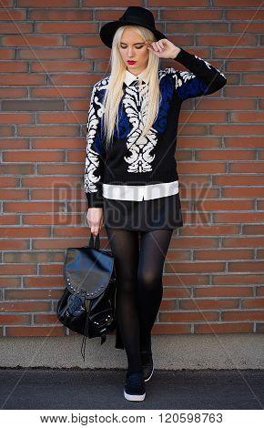 Lovely Beautiful Girl In Posing