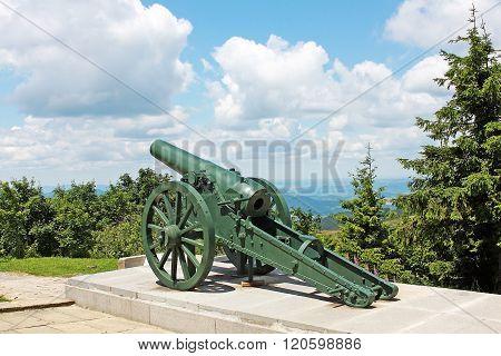 Russian Old Artillery On Shipka, Bulgaria
