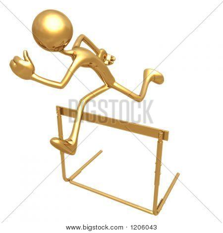 Jumping Hurdle