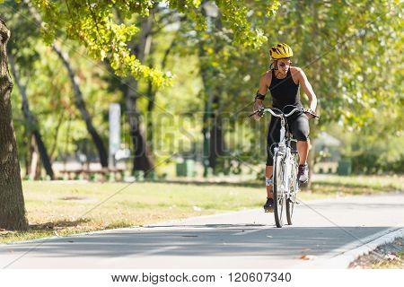 Riding E-bike