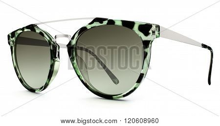 Sunvglasses Isolated On White Background