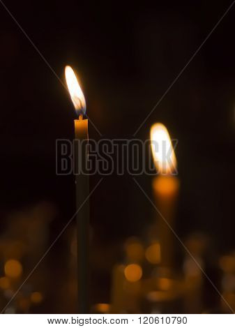 The Burning Candles