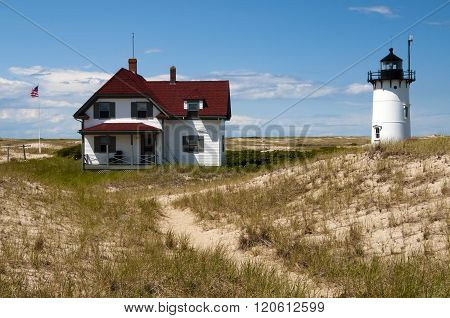 Keeper's House Near Race Point Light In Provincetown