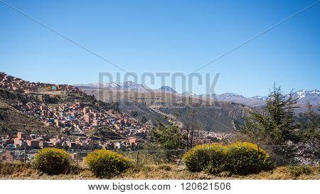 Cityscape Of La Paz From El Alto, Bolivia