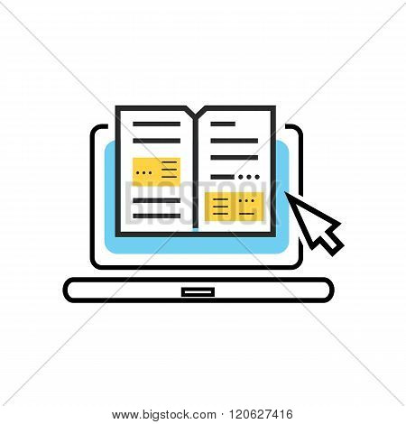 Icon of Online Books, Digital Library