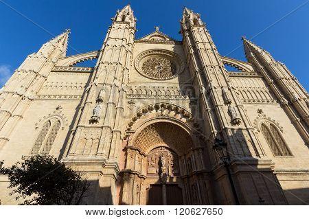 The Cathedral of Santa Maria Palma de Mallorca