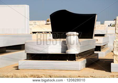 Jewish grave.