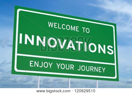 Welcome To Innovations Concept