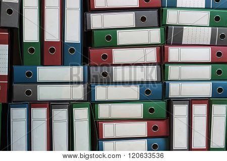 Binders Archive, Ring Binders, Bureaucracy