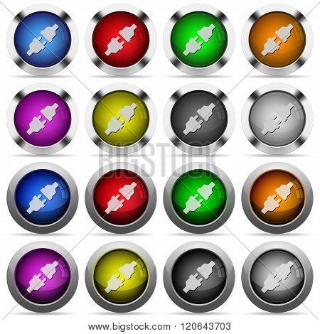 Power Connectors Button Set