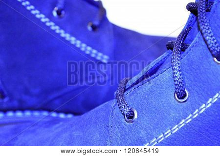 men's winter boots isolated