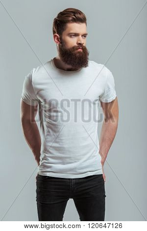 Young Bearded Man