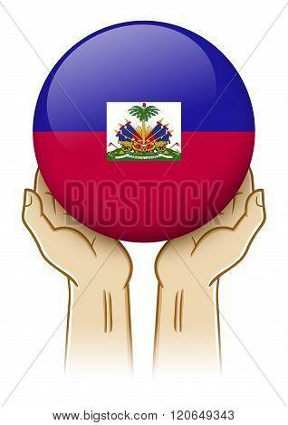 Pray For Haiti Illustration