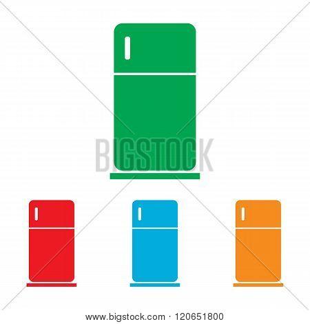 Refrigerator sign. Colorfull set