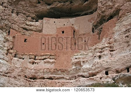 Ancient cliff dwelling in Arizona