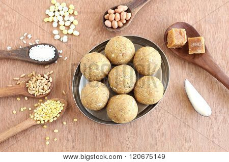 Indian Sweet Laddu