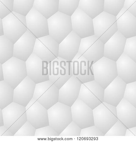 Vector Seamless Pattern - Chaotic Modern Volume Poligonal Background
