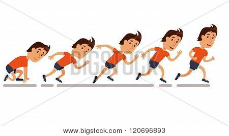 Running step sequence