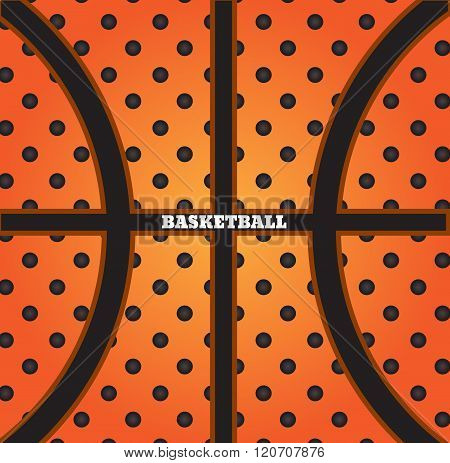 Illustration Of Basketball Background Vector Eps 10