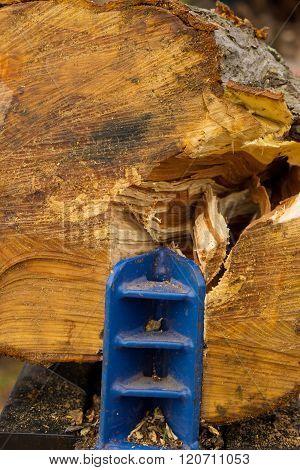 Wood Is Split