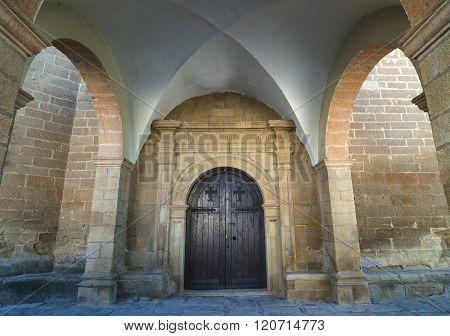 Medieval Church Of Sietamo (aragon, Spain)