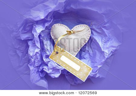 Valentine's Gift with Tag