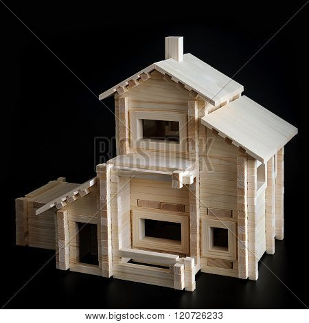 Toy Wooden House