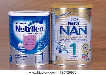 Nutrilon and Nestle NAN