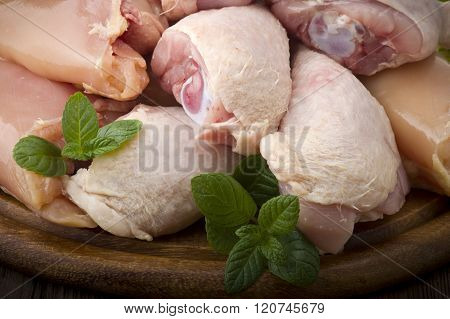 chicken thighs and legs
