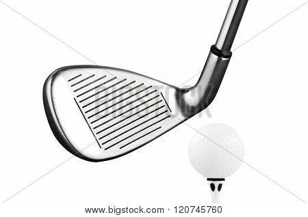 Golf Iron club tee