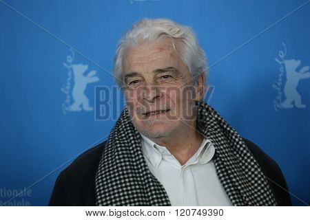 Jacques Weber attends the 'Death in Sarajevo' (Smrt u Sarajevu - Mort a Sarajevo) photo call during the 66th Berlinale Film Festival  at  Hyatt Hotel on February 15, 2016 in Berlin, Germany.