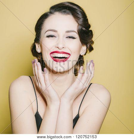 Attractive Retro Woman