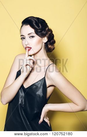 Attractive Retro Woman