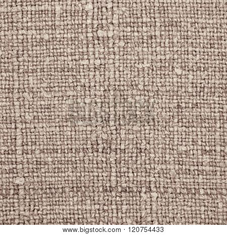 Furniture Upholstery Brown Fabric As Background. Abstract Texture