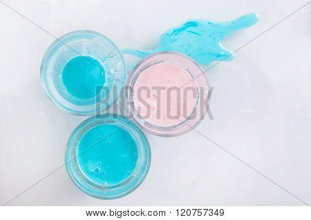 Pastel milk shake