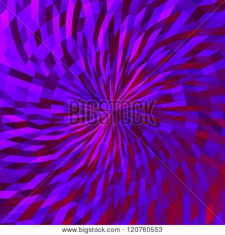 Violet background of triangles