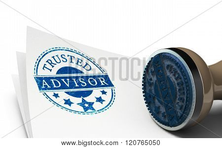 Advisor Or Business Consulting Concept