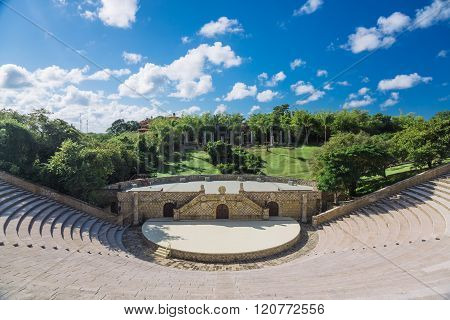 Amphitheatre in Altos de Chavon,