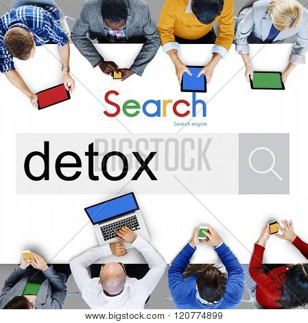 Detox Detoxification Detoxify Health Healthy Toxic Concept