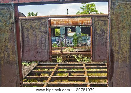 Old Railway Wagon