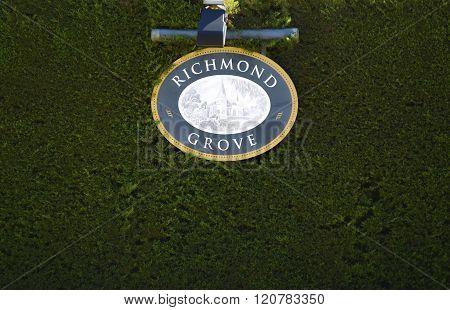 Richmond Grove Entrance, Barossa Valley.