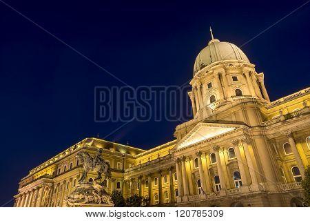 Buda Palace, Budapest, Hungary