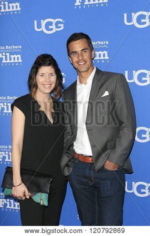 SANTA BARBARA - FEB 4:  Michelle Grinsel, Mark Grinsel at the 31st Santa Barbara International Film Festival - Maltin Modern Master on February 4, 2016 in Santa Barbara, California