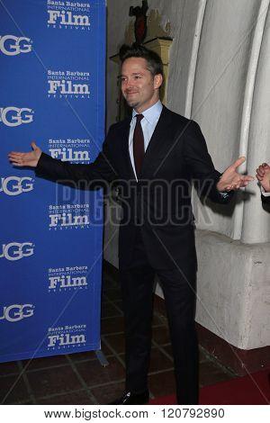 SANTA BARBARA - FEB 4:  Scott Cooper at the 31st Santa Barbara International Film Festival - Maltin Modern Master on February 4, 2016 in Santa Barbara, California
